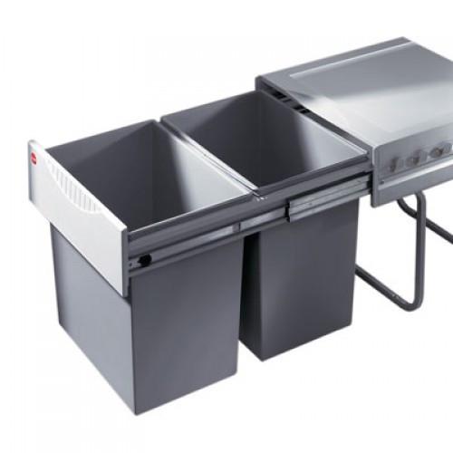 Afvalbak Keuken Inbouw : Hailo Raumspar Tandem 18 + 18 liter Vanaf ? 71.99 bij 3 winkels