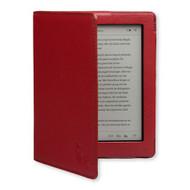 Gecko Covers Luxe Case Kobo Aura Dark Red