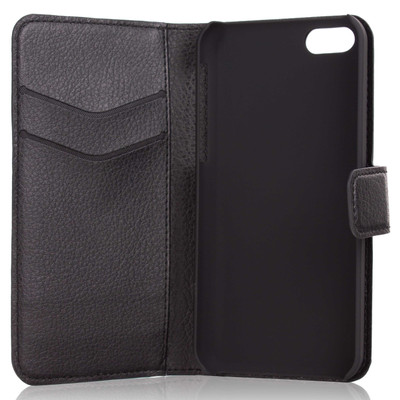 Xqisit Slim Wallet Case Apple iPhone 5C Black