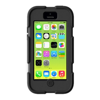 Griffin Survivor Clove Apple iPhone 5C Black