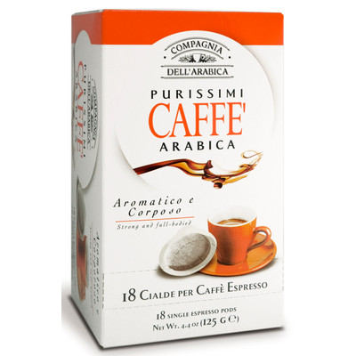 Image of Caffe Corsini ESE-Servings Purisimi Arabica 6 x 18 pods