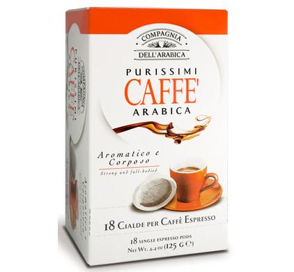 Caffe Corsini ESE-Servings Purisimi Arabica 6 x 18 pods
