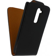 Xccess Leather Flip Case LG G2 Black