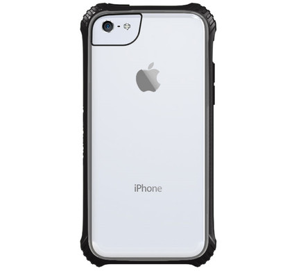 Griffin Survivor Clear Clove Apple iPhone 5C Zwart
