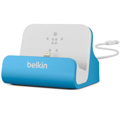 Belkin Lightning Dock Apple iPhone 5/5S/SE Blue