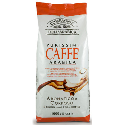 Image of Caffe Corsini Bonen Purisimi Arabica 1 Kilogram