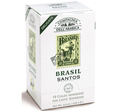Caffe Corsini ESE-Servings Brasil 6 x 18 pods