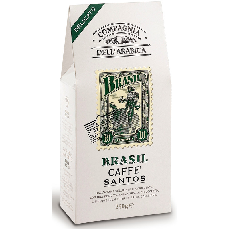 Caffe Corsini Gemalen Koffie Brasil 6 X 250 Gram vandaag bezorgd