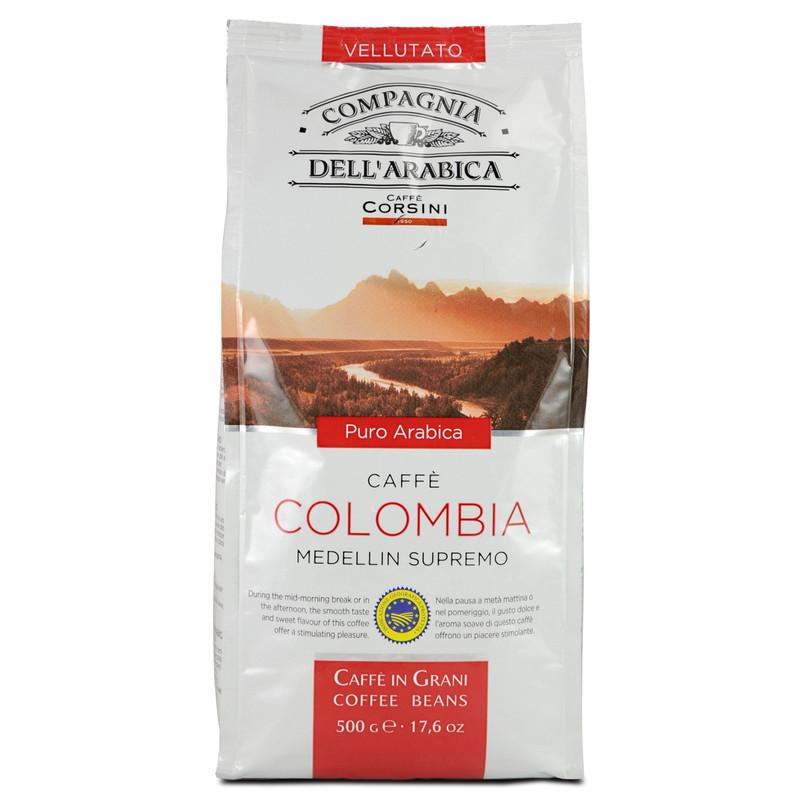 Caffe Corsini Bonen Colombia 3 X 500 Gram