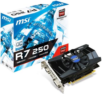 MSI Radeon R7 250 2GD3 OC