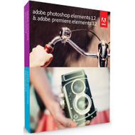 Adobe Photoshop Elements 12 + Premiere Elements 12 UK
