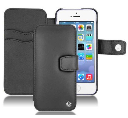 Noreve Tradition B Leather Case Apple iPhone 5/5S/SE Black