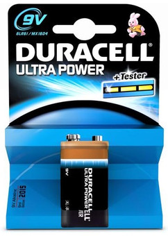 Duracell Ultra Power 1-pack 9V