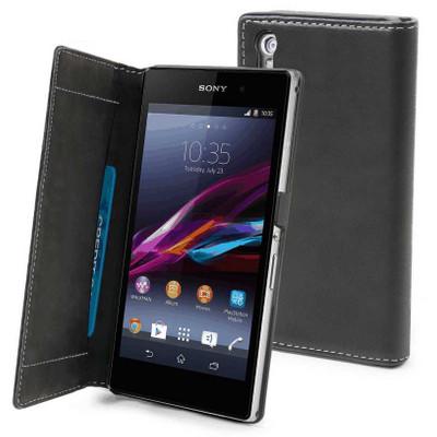 Muvit Slim Folio Case Sony Xperia Z1 Black