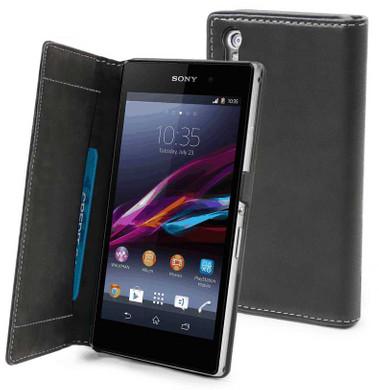 Muvit Slim Folio Case Sony Xperia Z1 Zwart