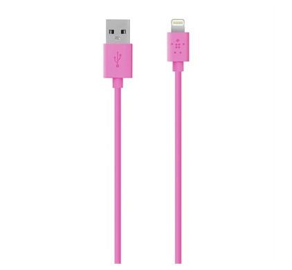 Belkin Lightning USB Kabel Pink 1.2m