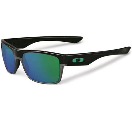 Oakley TwoFace Polished Black/Jade Iridium