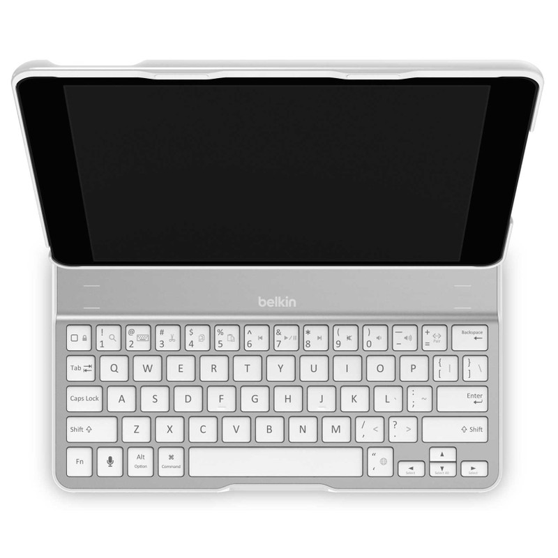 Belkin Ultimate Keyboard Case Apple Ipad Air White Qwerty