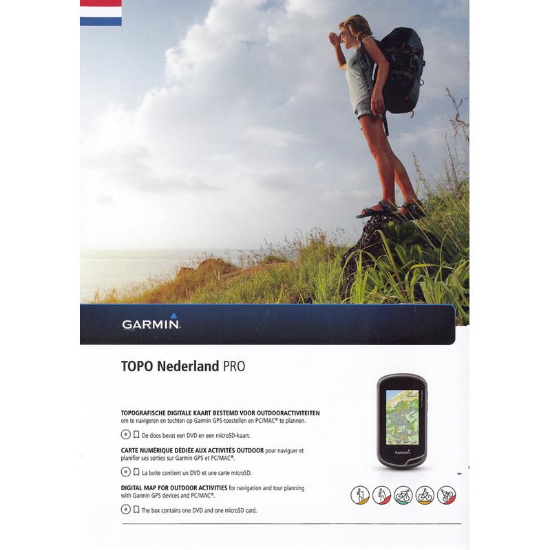 Garmin Topo Nederland Pro MicrosdandDvd