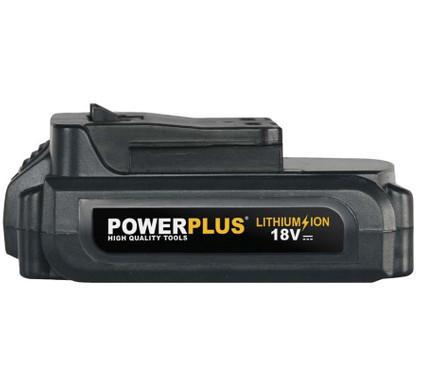 Powerplus POWX0095Li 18 volt 1,5 Ah Li-Ion Accu
