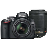 Nikon D5100 + 18-55mm VR + 55-200mm VR