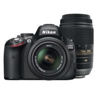 Nikon D5100 + 18-55mm VR + 55-300mm VR