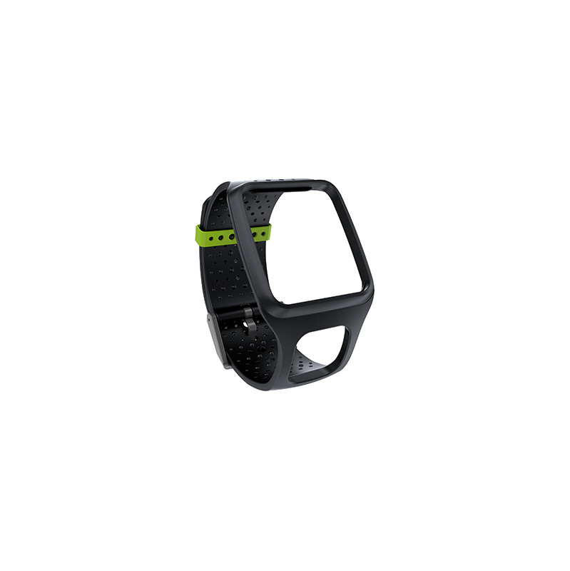 Tomtom Horlogeband Zwart (slank)