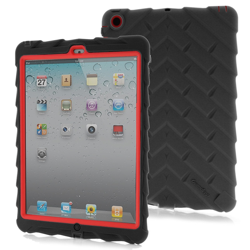 Gumdrop Drop Case Apple Ipad Air Black/red