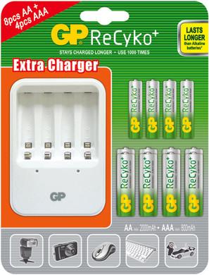 GP ReCyko+ Value Pack plus lader