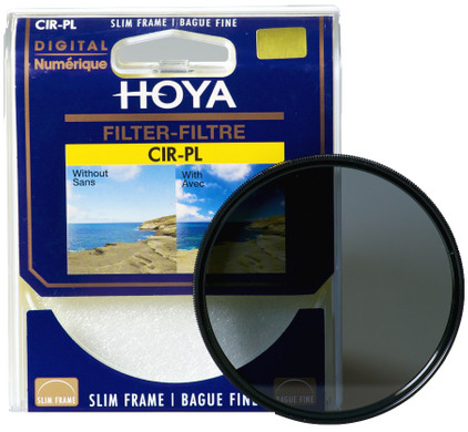 Hoya PL-CIR SLIM 62mm Polarisatiefilter