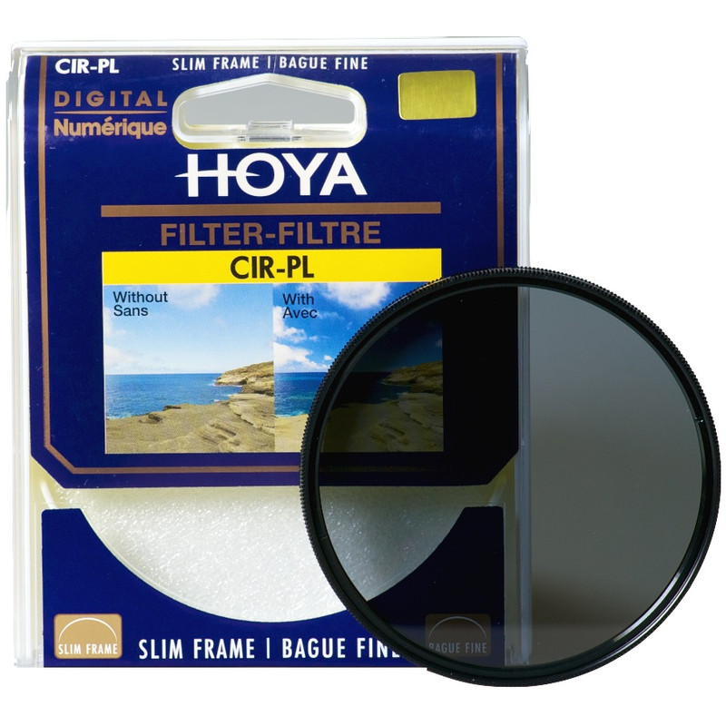 Hoya Pl-cir Slim 49mm Polarisatiefilter