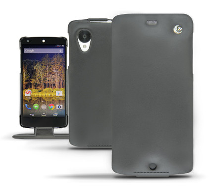 Noreve Tradition Leather Case LG Nexus 5 Zwart