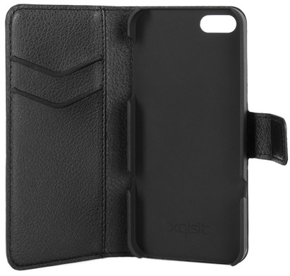 Xqisit Slim Wallet Case Apple iPhone 5/5S/SE Black