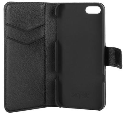 Xqisit Slim Wallet Case Apple iPhone 5/5S/SE Black