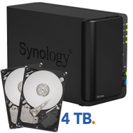 Synology DS214 Play + 4 TB