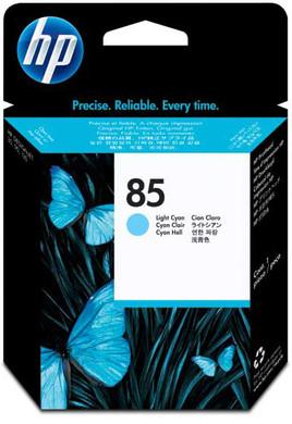 HP 85 Printkop Licht Cyaan