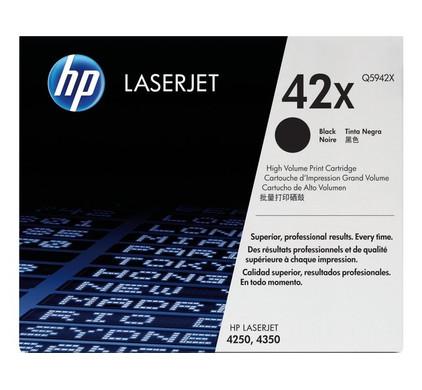 HP 42X LaserJet Toner Zwart (Q5942X)
