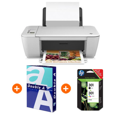 HP Deskjet 2540 + Cartridge-pack + Papier (250 vel) - Coolblue