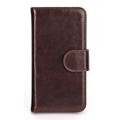 Xqisit Wallet Case Eman Apple iPhone 5 / 5S Brown