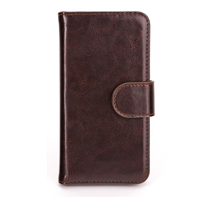 Xqisit Wallet Case Eman Apple iPhone 5 / 5S Brown