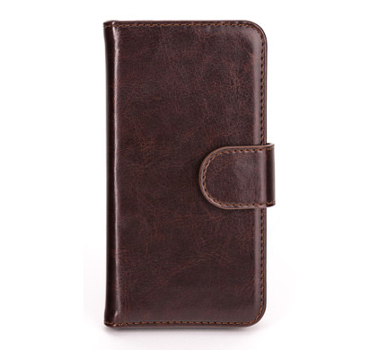 Xqisit Wallet Case Eman Apple iPhone 5/5S/SE Brown