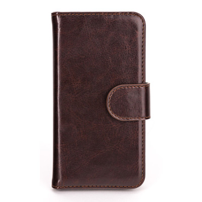 Xqisit Wallet Case Eman Apple iPhone 5C Brown