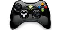 Xbox 360 Wireless Controller Chrome Black