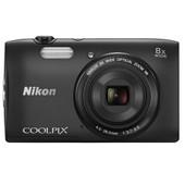 Nikon Coolpix S3600 Zwart