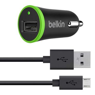 Belkin Autolader Micro-USB 2,1A Zwart