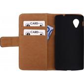 Mobilize Slim Wallet Book Case Motorola Moto E (2015) Zwart