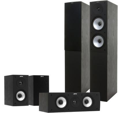 Jamo S526 HCS zwart (set)