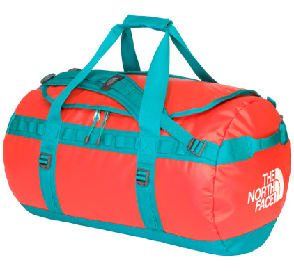 The North Face Base Camp Duffel M Fire Brick Red