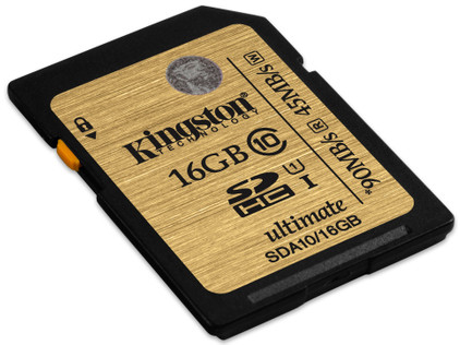 Kingston SDHC Ultimate 90 mb/s 16 GB Class 10