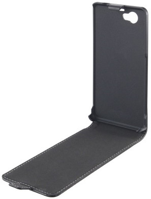 Xqisit Flipcover Sony Xperia Z1 Compact Zwart